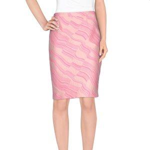 Boutique Moschino Pink Pencil Skirt - 6 - EUC